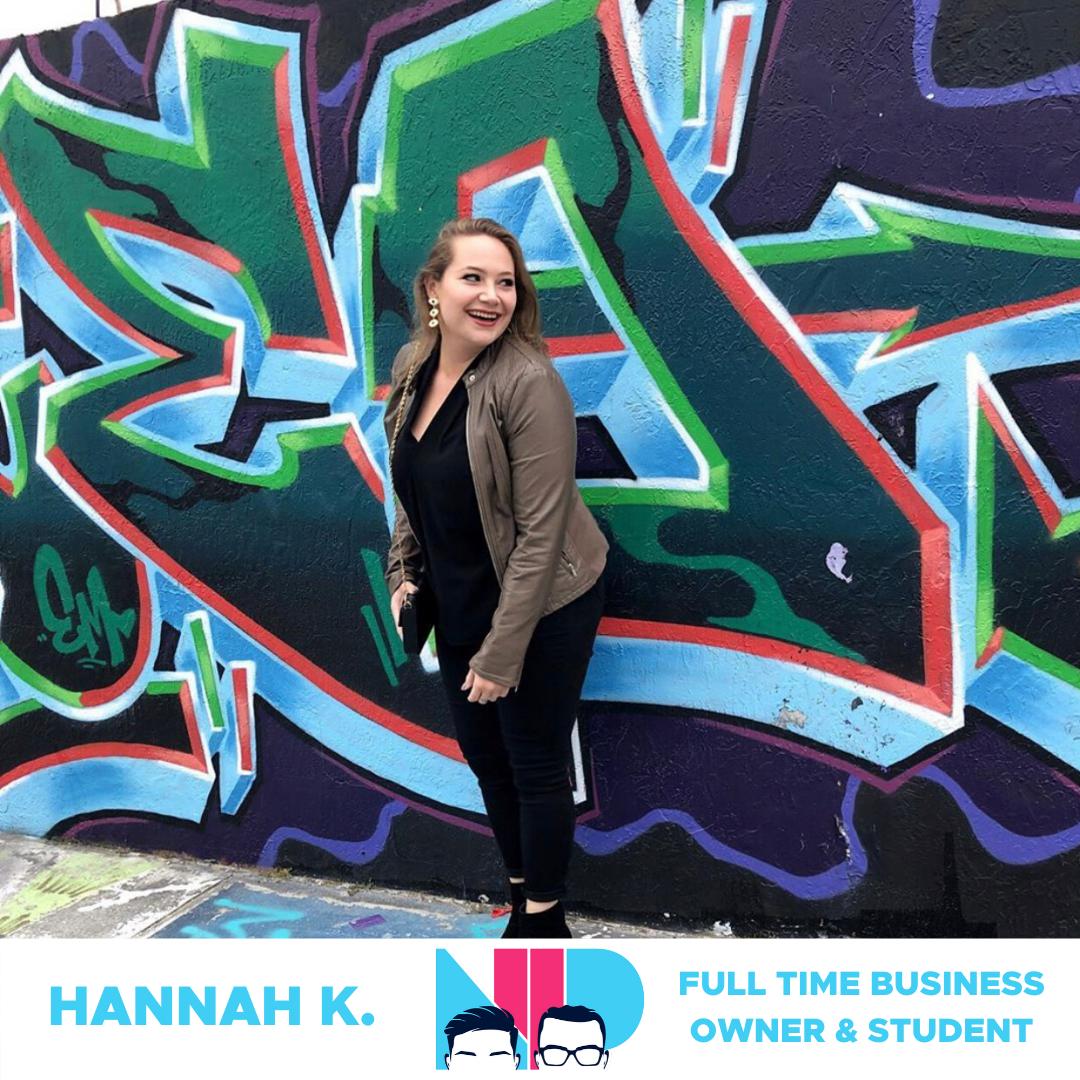 Hannah K. success story