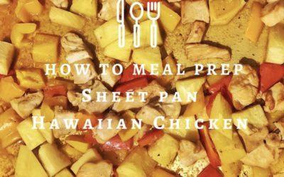 Sheet Pan Hawaiian Chicken