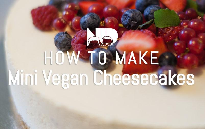 Mini Vegan Cheesecakes